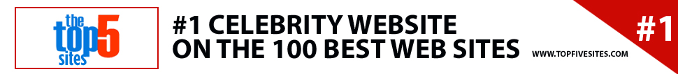 #1 celebrity website 
